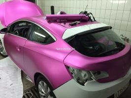 матовый хром розовый